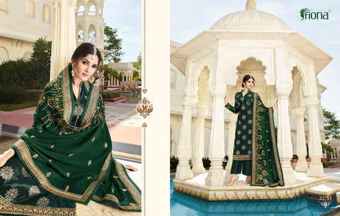 FIONA NAZRANA JACQUARD WITH WORK PARTY WEAR DESIGNER SALWAR SUIT