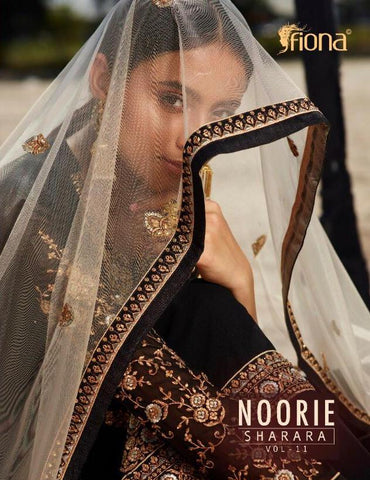 Fiona Noorie Sharara Vol 11 Satin Georgette Bridal Collection