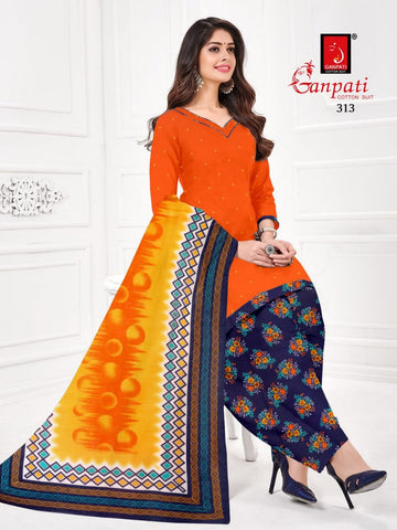Ganpati Gareema Vol 3 Cotton Desginer Daily Wear Salwar Kameez Collections