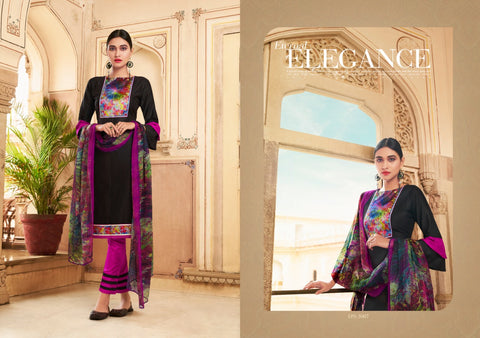 Ghoomar Vol 3 Cotton Satin Designer Salwar kameez Collection