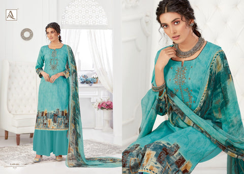 Alok Suit Gurleen Pure Jam Cotton Digital Printed Stylish Suit Collection
