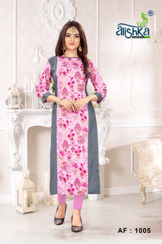 ALSHIKA FASHION PRESENTS COLLECTION OF KURTI'S