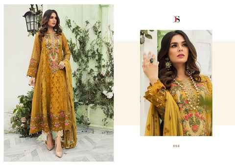 Deepsy Suits Imoriza Vol 18 Embroidered Georgette Pakistani Collection