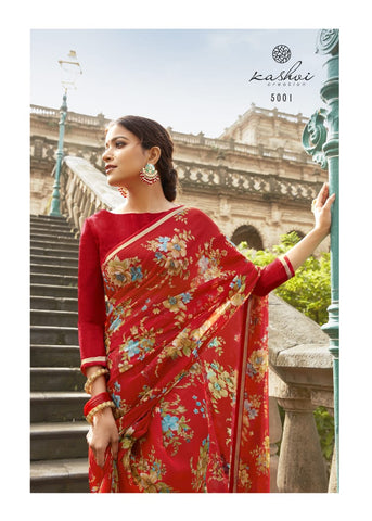 Inayat Present Chiffon Casual Daily Wear Saree Collection