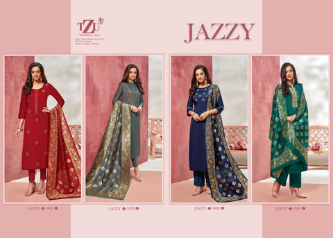 TZU LIFESTYLE PRESENTS JAZZY KURTI WITH DUPATTA IN MODAL SILK FABRIC