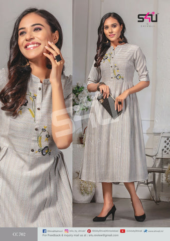 S4u Shivali Cotton Candy Vol 7 Rayon Designer Kurti Collection