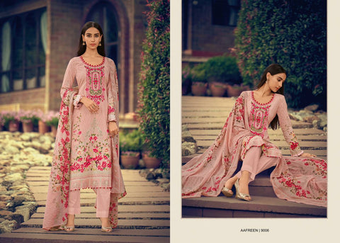Mumtaz Arts Aafreen Cotton Embroidery Karachi Collection