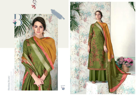 Kesar Karachi Prints Summer Essence Pure Lawn Digital Print Salwar Suit