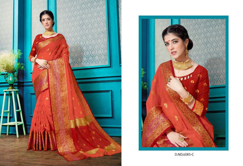 Kanyadan Vol 3 Designer Cotton Silk Saree Collection
