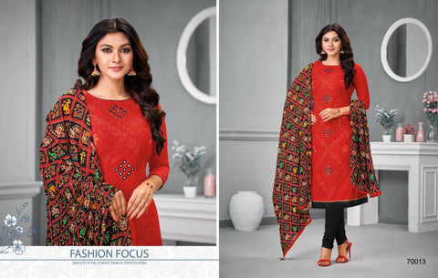 Kapil Fab Daairya Don Lakda Jecord Work Daily Wear Salwar Suit
