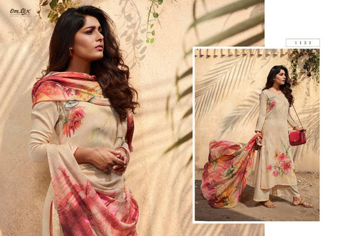 OMTEX KAVERI FANCY DIGITAL PRINT SALWAR SUIT DRESS MATERIAL