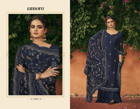 Kimora Morpank Austrelian Silk Pakistani Collection Salwar Kameez