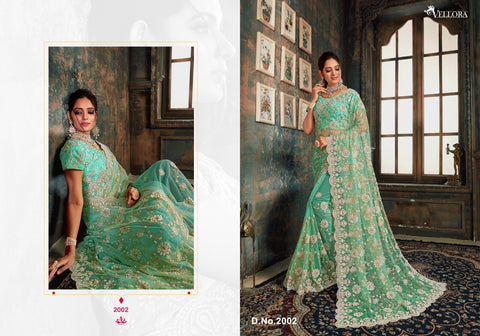 Kesari Exports Vellora Vol 10 Zari Work Stylish Designer Saree Collection