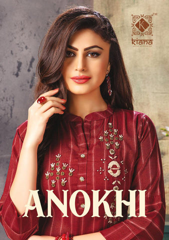 Kiana House Of Fashion Anokhi Kurti With Pants Partywear Collection