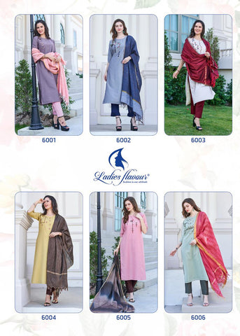 LADIES FLAVOUR AAROHI PRESENT CASUAL WEAR SUITS