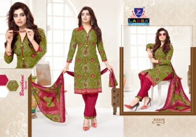 Lassa Vol 10 Cotton Print Casual Wear Salwar Kameez