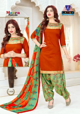Lassa Meera Patilya Vol 14 Cotton Casual Wear Collection