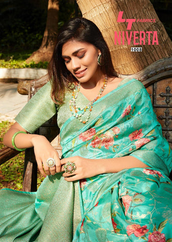 LT FASHION NIVERTA SILK SAREE HEAVY DESIGNER SAREE COLLECTION