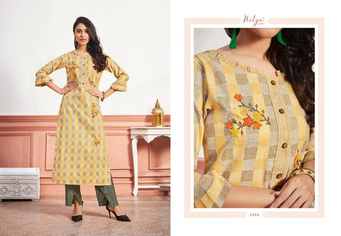 LT NITYA INAAYA VOL.2 CASUALWEAR KURTI COLLECTION WITH PANTS