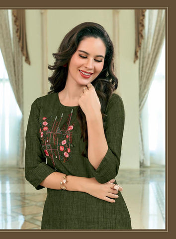 Ladies Flavour Dzire Vol 2 Kurti With Plazzo Casual Wear Collection