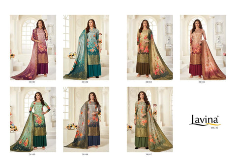 Lavina Vol 30 Dola Printed Salwar Suit Collection In Wholesale