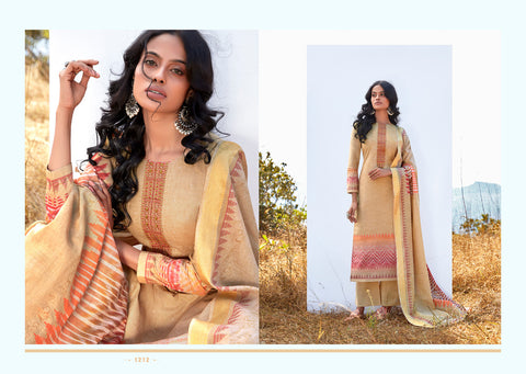 Laxmimaya Silk Mills Reet Cotton Digital Print Salwar Suits