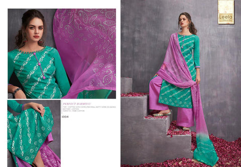 Leela Kayra Cotton Fancy Work Designer Salwar Kameez