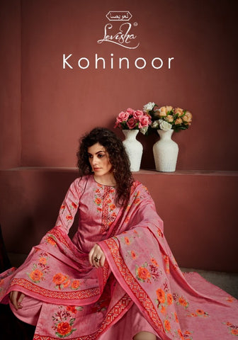 Levisha Presents Kohinoor Cotton Digital Print Exclusive Suit Collection