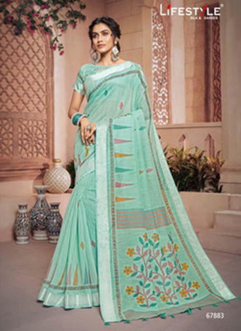 Lifestyle Vivanta Cotton Casual Designer Saree