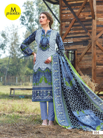 M PRINTS BRINGS PRINTED DAILYWEAR COTTON DRESS MATERIAL COLLECTION