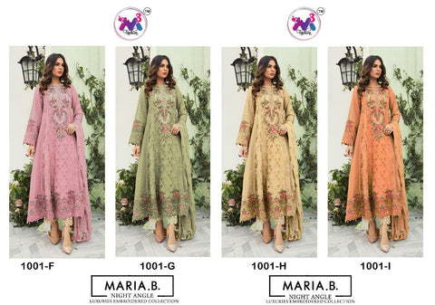 Maria B Nightangel Heavy Embroidery Party Wear Collection