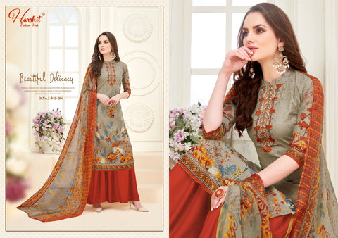 HARSHIT FASHION LAUNCHES MAHIRA DESIGNER DIGITAL PRINT SUMMER SUITS