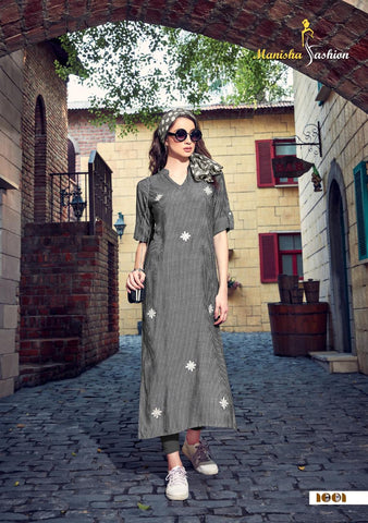 MANISHA FASHION PRESENTS MARIA CASUALWEAR FANCY KURTI COLLECTION