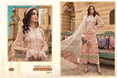 Shree Fab Mariya B Spring Summer 20 Vol 1 Embroidery Pakistani Suit Collection