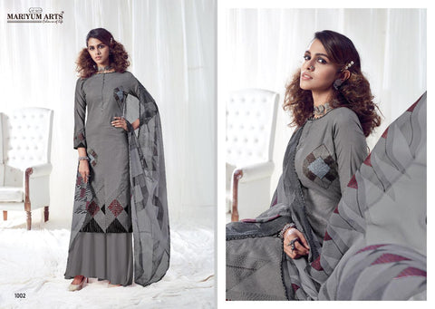 Mariyum Arts Presents Heenaz Pure Cotton Casual Wear Salwar Kameez