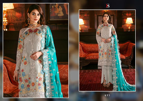 DEEPSY SUIT MARK VOL 5 GEORGETTE WITH HEAVY EMBROIDERY SALWAR SUIT