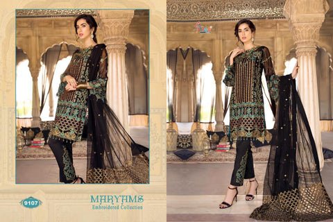 SHREE FAB MARYAM HEAVY  EMBROIDERED PARTY WEAR COLLECTION