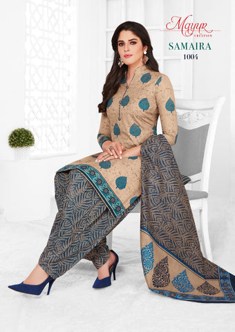 MAYUR CREATION SAMAIRA SUMMER COLLECTION COTTON DRESS MATERIAL