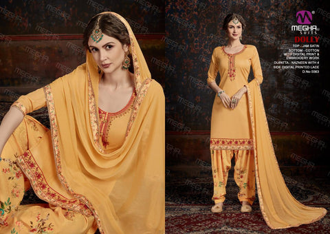 Meghali Suits Dolly Collection Cotton Fabric Casual Wear Salwar Suit