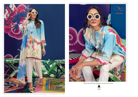 KAARA SUITS BRINGS MUZLIN PURE COTTON DAILYWEAR PAKISTANI STYLE SUITS