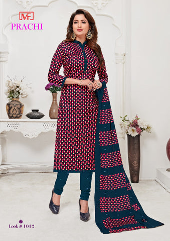 Madhav Fashion Prachi Pure Cotton Printed Dress Material