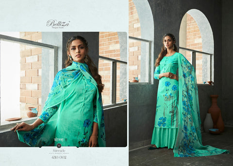 Belliza Designer Studio Nakshatra Cotton Digital Printed Collection Salwar Kameez
