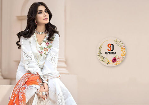 Shraddha Designer Noor Special Edition Vol 2 Lawn Cotton Embroidery Work Salwar Suits