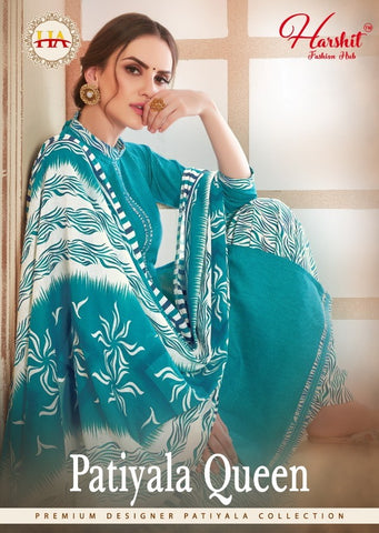HARSHIT FASHION INTRODUCES PATIALA QUEEN DAILYWEAR PATIALA SUIT