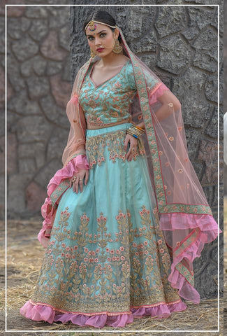 Peafowl Vol 50 Exclusive Bridal Lehenga  Choli Collection In Wholesale