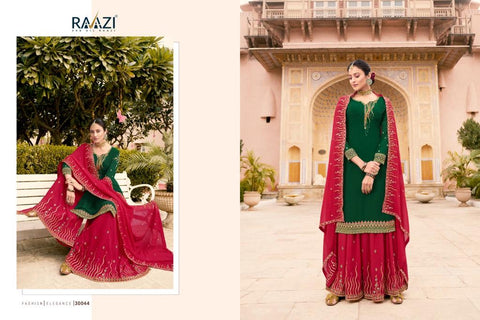 RAAZI DILBARO VOL 3 NEW CATALOG DESIGNER WEDDING WEAR COLLECTION