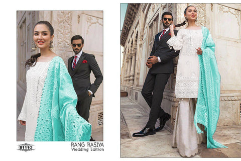 Rangrasiya Presents Wedding Collection Fox Georgette Heavy Salwar Suits