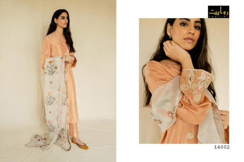 Rawayat Launched Rehstore Jam Silk Casaul Wear Salwar Suits