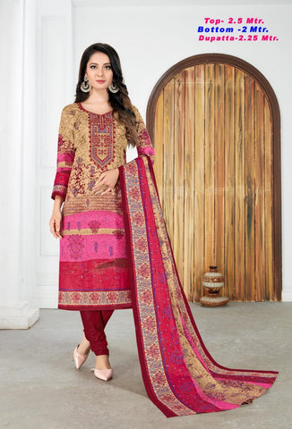 Razia Sultan Vol 27 Cotton Printed Casual Wear Salwar Suits
