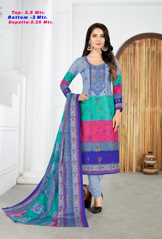 RAZIA SULTAN RAZIA SULTAN VOL 27 DAILY WEAR COTTON PRINTED SALWAR KAMEEZ